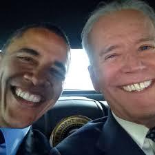 Obama Biden Selfie